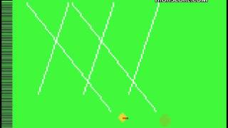 2600 Missile Command Game 1BB 1059680 points   Single Part