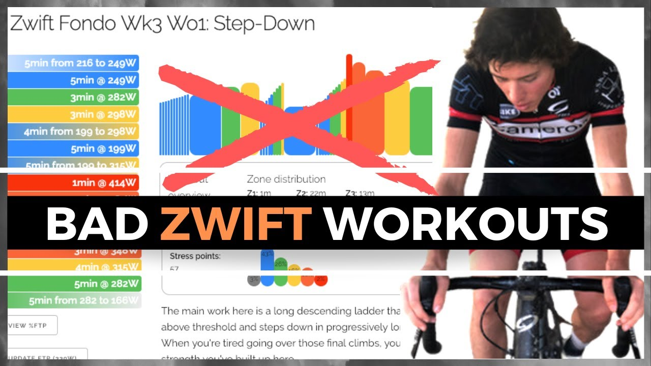 The Problem with Zwift Workouts and Training Plans