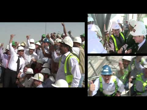 The Opening of the Burj Khalifa