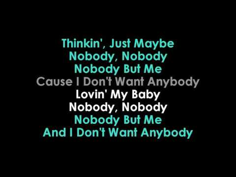 Michael Buble & Black Thought Nobody But Me karaoke  | GOLDEN KARAOKE