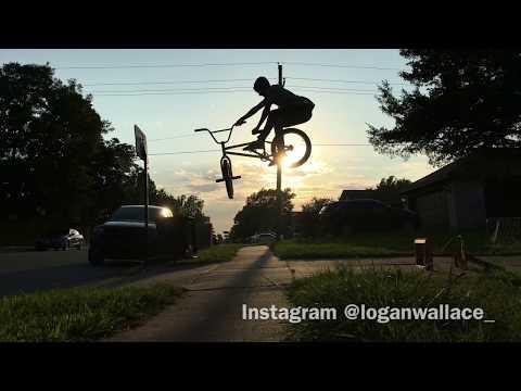 BMX - 14 year old Logan Wallace