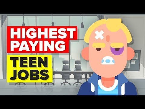 11 Highest Paying Teen Jobs