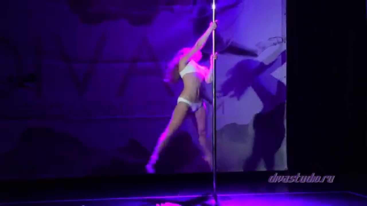 """Отчетный концерт Pole Dance в клубе """"Олимпия"""" 07.06.2015 года. Ученица студии танца Анна (дебют)"""