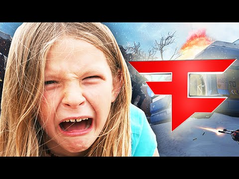 ANGRY GIRL Tries out for FaZe on Advanced Warfare! - (FaZe Clan Tryout Troll)
