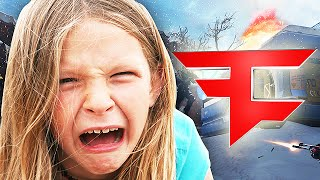 angry girl tries out for faze on advanced warfare faze clan tryout troll