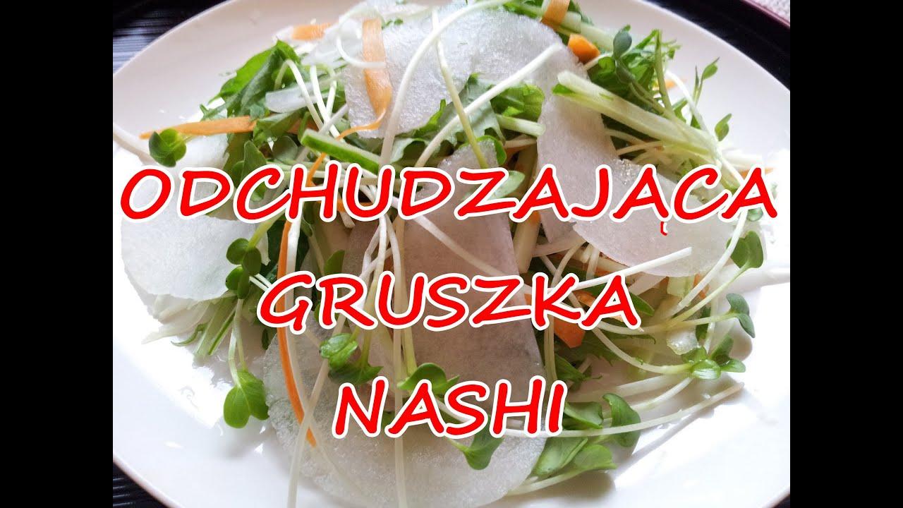 Salatka Surowka Odchudzanie Gruszka Nashi Przepis Odchudzajaca Schudnac Dieta Okinawa Cud