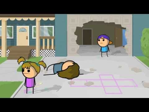 Step On A Crack - Cyanide & Happiness Shorts [ Dublado ]