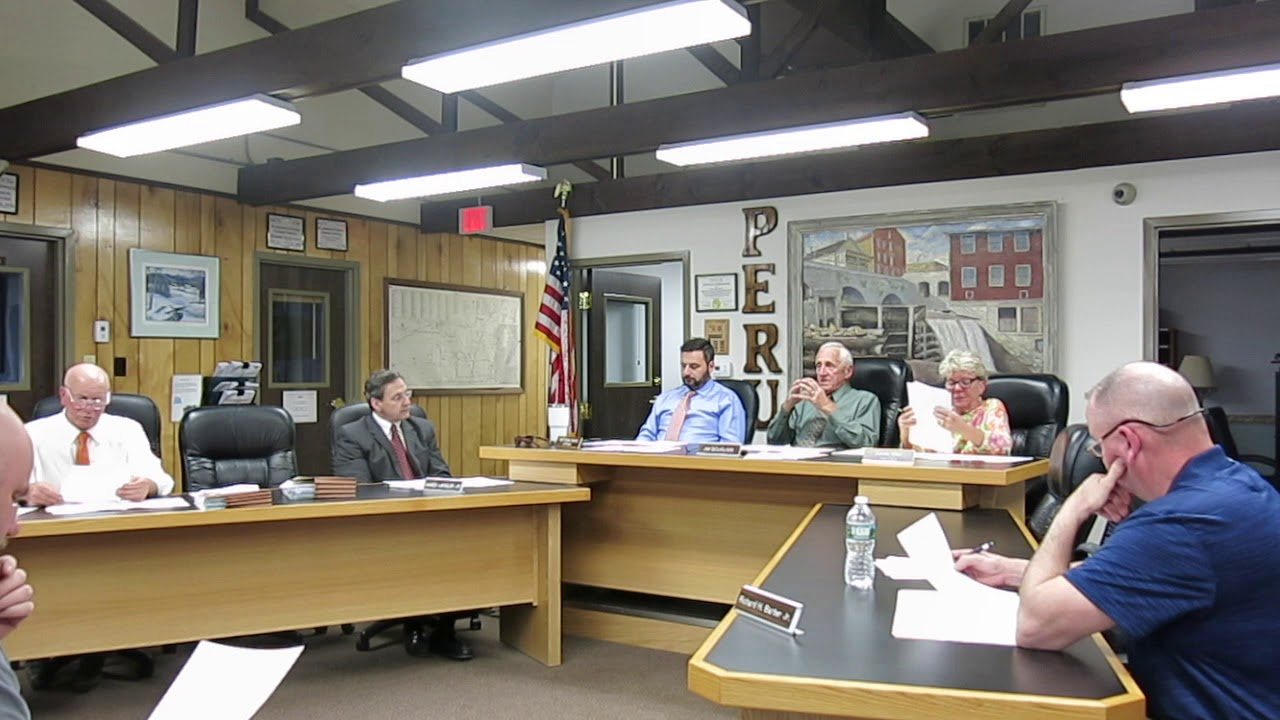 Peru Town Board Meeting  4-25-19