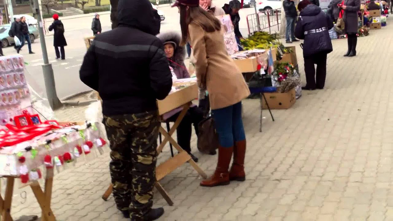 Braconiere în centrul capitalei în ajunul zilei femeii
