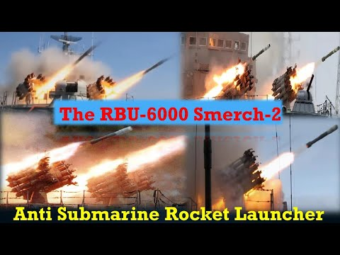 The RBU-6000 Anti Submarine Rocket Launcher