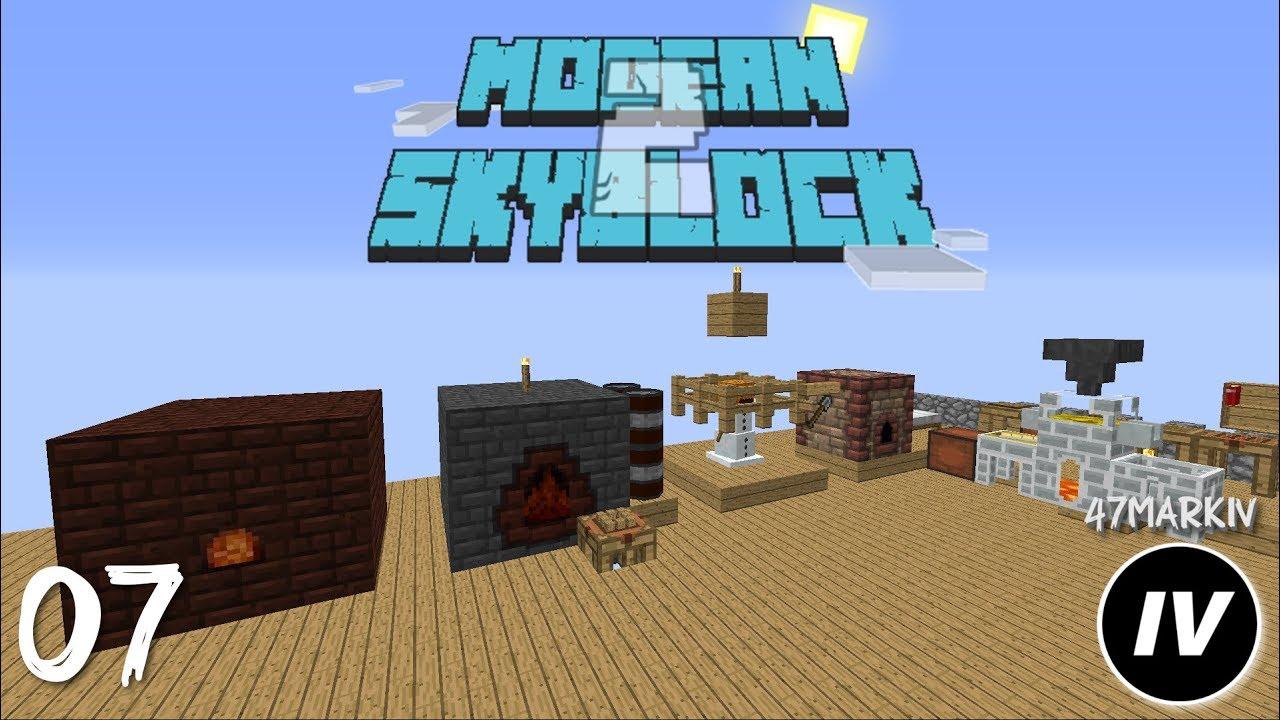 Modern Skyblock 2 - Ep 7 - Fake Smeltery