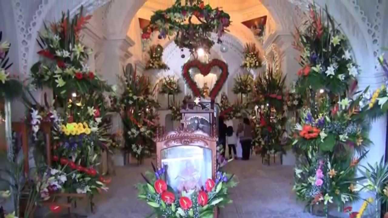 adorno en Iglesia San berna  YouTube
