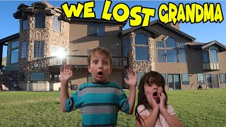 WE LOST GRANDMA IN A MANSION!