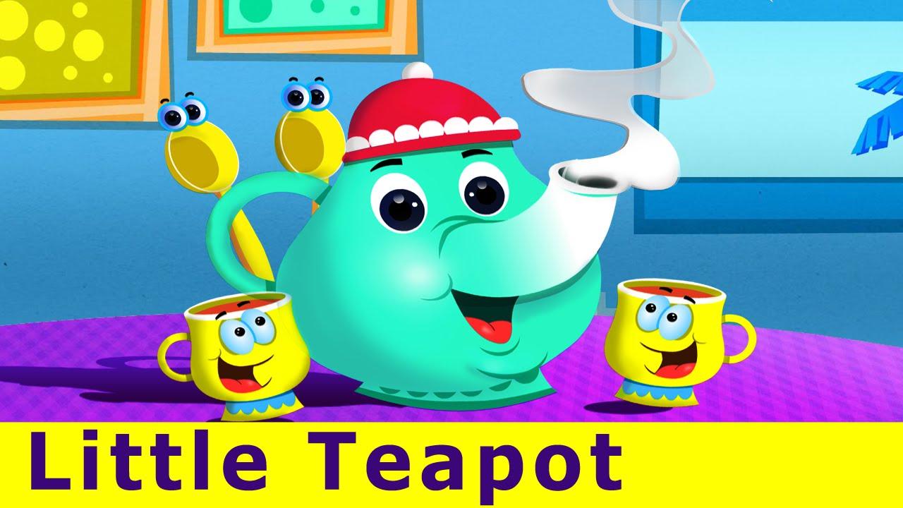 I'm a Little Teapot Nursery Rhyme | Popular Kids Songs YouTube Video