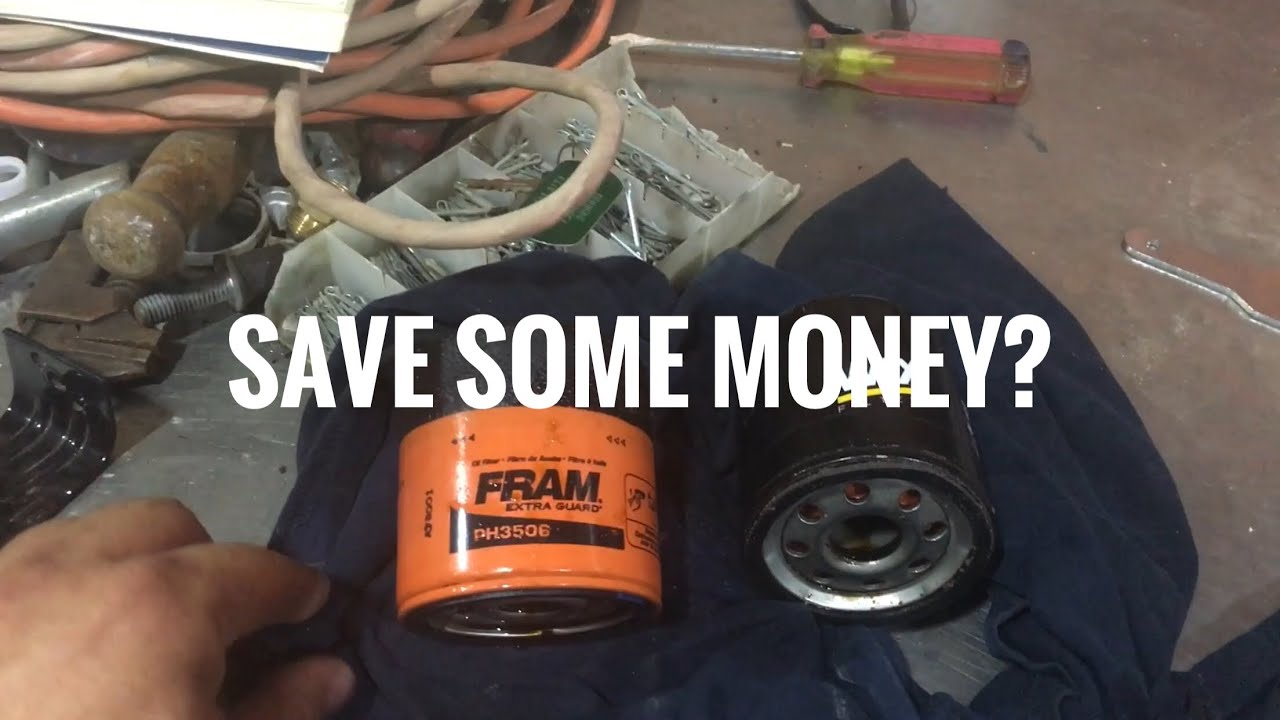 Fram Vs Wix Oil Filter Youtube Performance Fuel