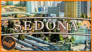 Sedona - Part 74 | CLIFF HOUSING (Cities: Skylines)