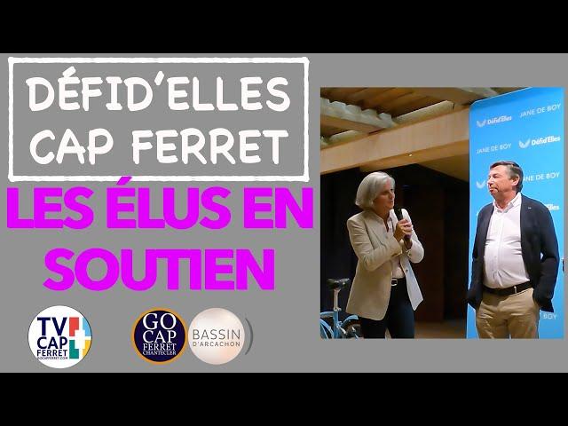 DÉFID'ELLES - Les élus sur le Podium - Gala de clôture - RAID CAP FERRET SEPTEMBRE 2021