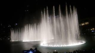 UAE 45th National Day# Dubai mall#dancing fountain