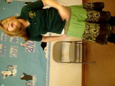 Meagan in class
