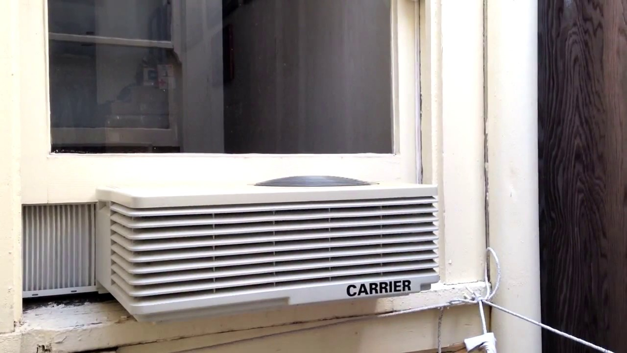 how to get mold out of a window air conditioner