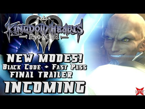 BIG Kingdom Hearts 3 ReMind News! - New Modes + Final Trailer INCOMING! from YouTube · Duration:  10 minutes 43 seconds
