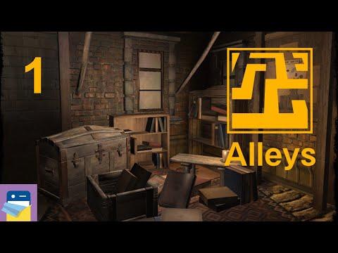 Alleys: iOS iPad Gameplay Walkthrough Part 1 (by THEMEr)