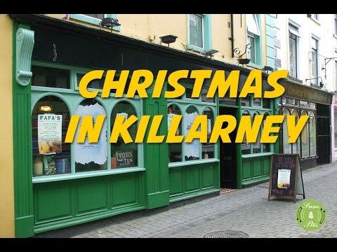 Christmas in Killarney (lyrics video for karaoke)
