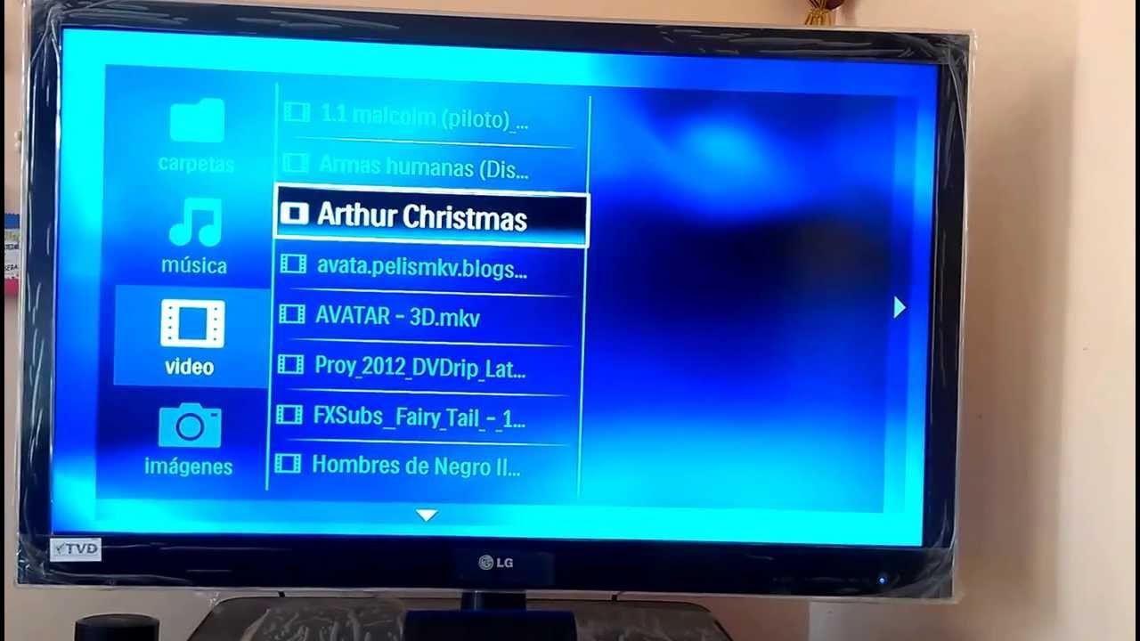 CONFIGURACION TV 3D PARA VER PELICULAS 3D SBS - YouTube