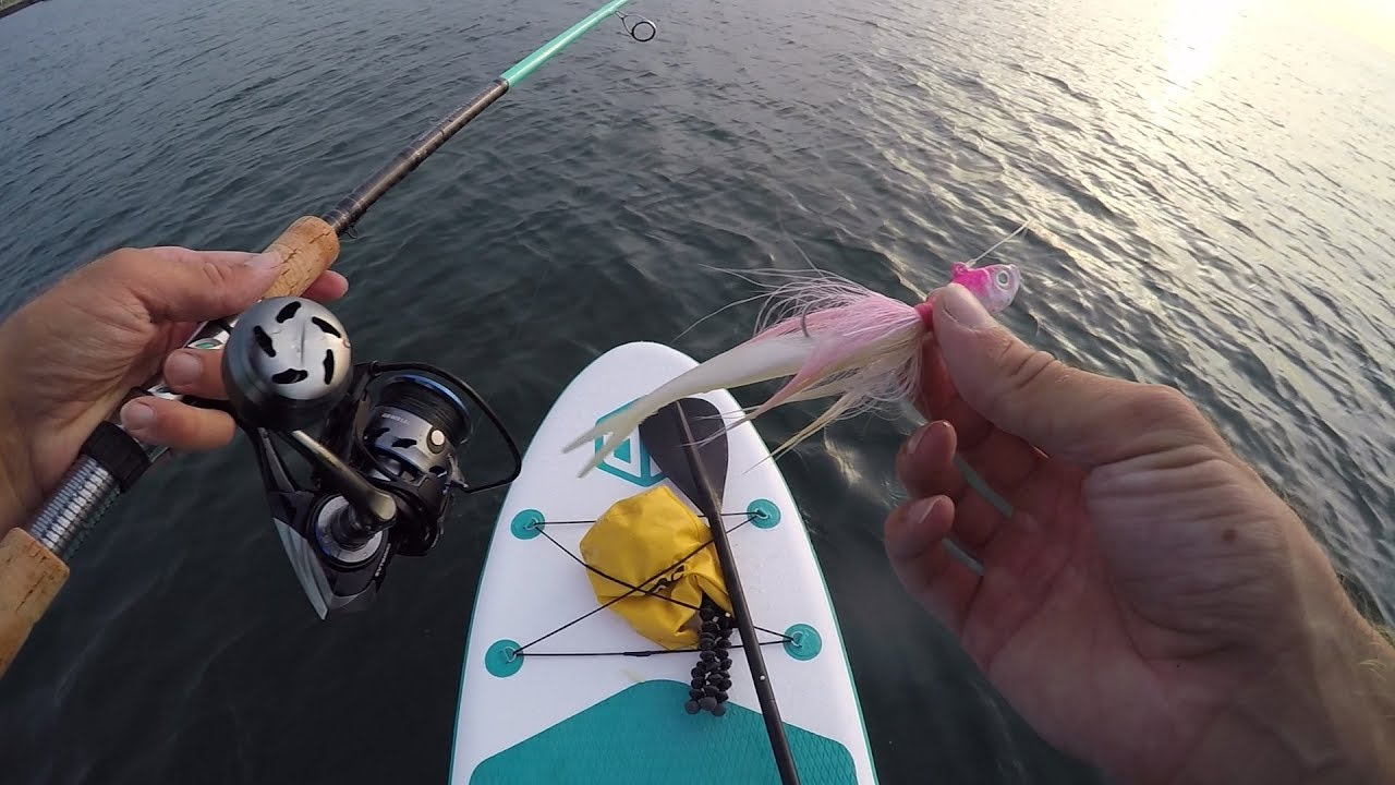 Attempting Paddle Board Fishing - SUP World Mag