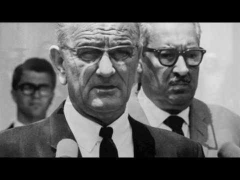 Thurgood Marshall Taking a Stand In Court Against Segregation