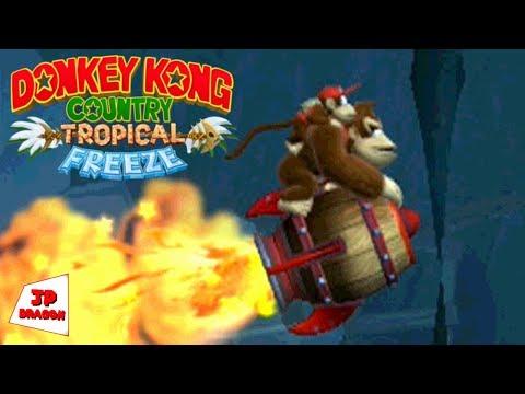 Vamos passear de barril voador? - DONKEY KONG COUNTRY TROPICAL FREEZE #19