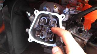 how to adjust valves on honda gx or chinese replicas