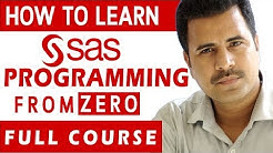 How to Learn SAS Programming from ZERO   SAS Programming Beginner Tutorial   Full course
