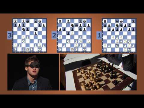 [FULL VERSION] Magnus Carlsen Blind & Timed Chess Simul at the Sohn Conference in NYC