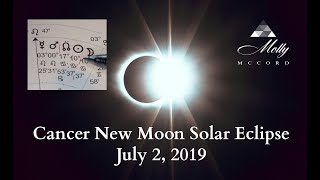 July 2 Cancer ♋ New Moon Solar Eclipse ~ Birthing A New Soul Experience