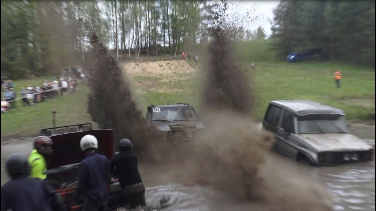 SUVs in Off-Road | Water big splash 2