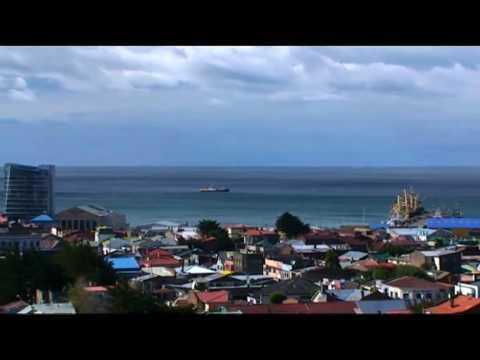 Punta Arenas, Estrecho de Magallanes. Videos de la ciudad de Punta Arenas. Patagonia, Chile