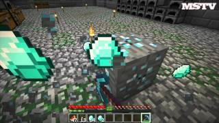 Minecraft: Survival with Herobrine #10 - Первые алмазы, последние алмазы.