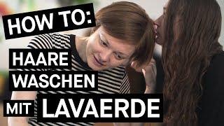How To Lavaerde: Haare Waschen ohne Shampoo (mit iam.serafina) || PULS Reportage