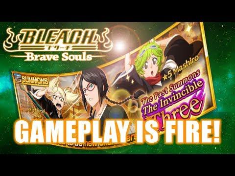 Bleach Brave Souls (GAMEPLAY) : RANGED LISA WTF?!  also HIYORI and MASHIRO!