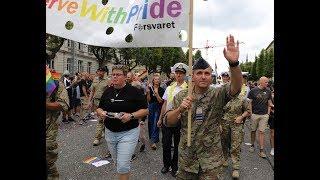 Forsvaret med til Pride-parade 2019