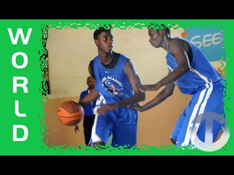 NBA hopefuls from Senegal - the SEEDS Basketball Academy