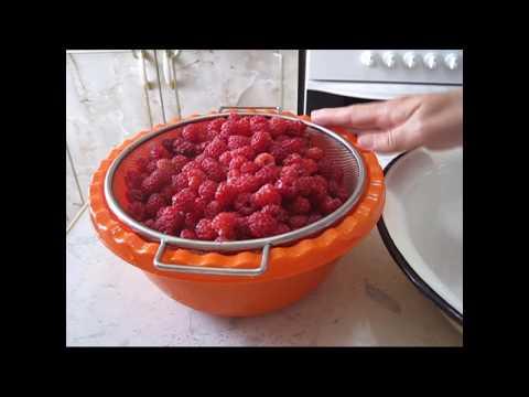 Рецепт малинового варенья-максимально сохраняет витамины.