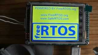 FreeRTOS on STM32 Mini Board with LCD Display