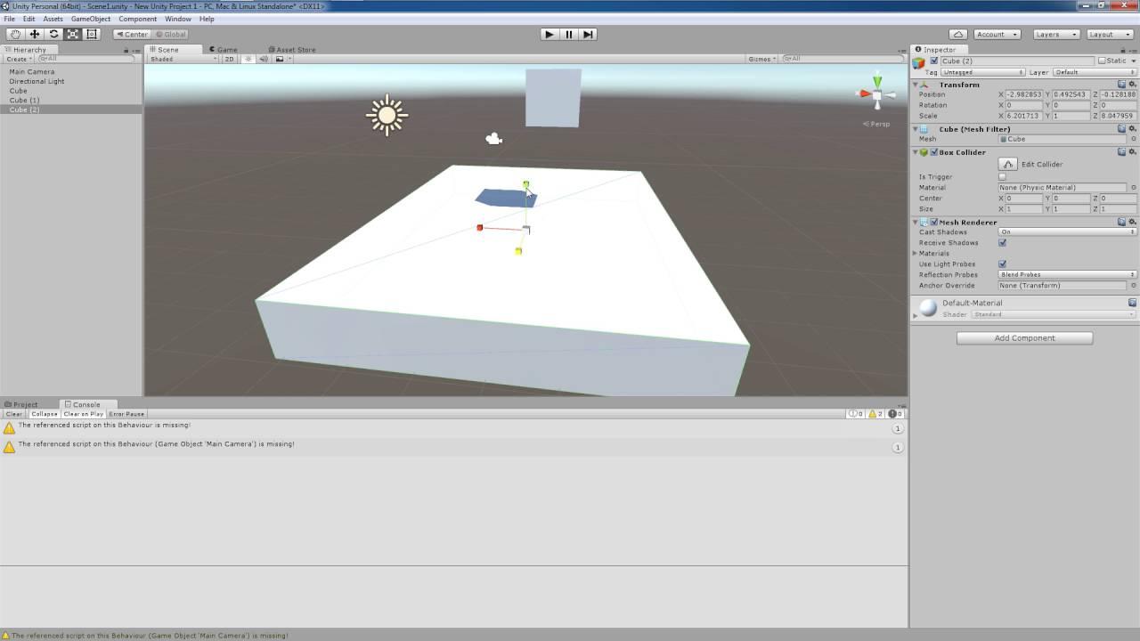 Unity 5 Tutorial: Physics System