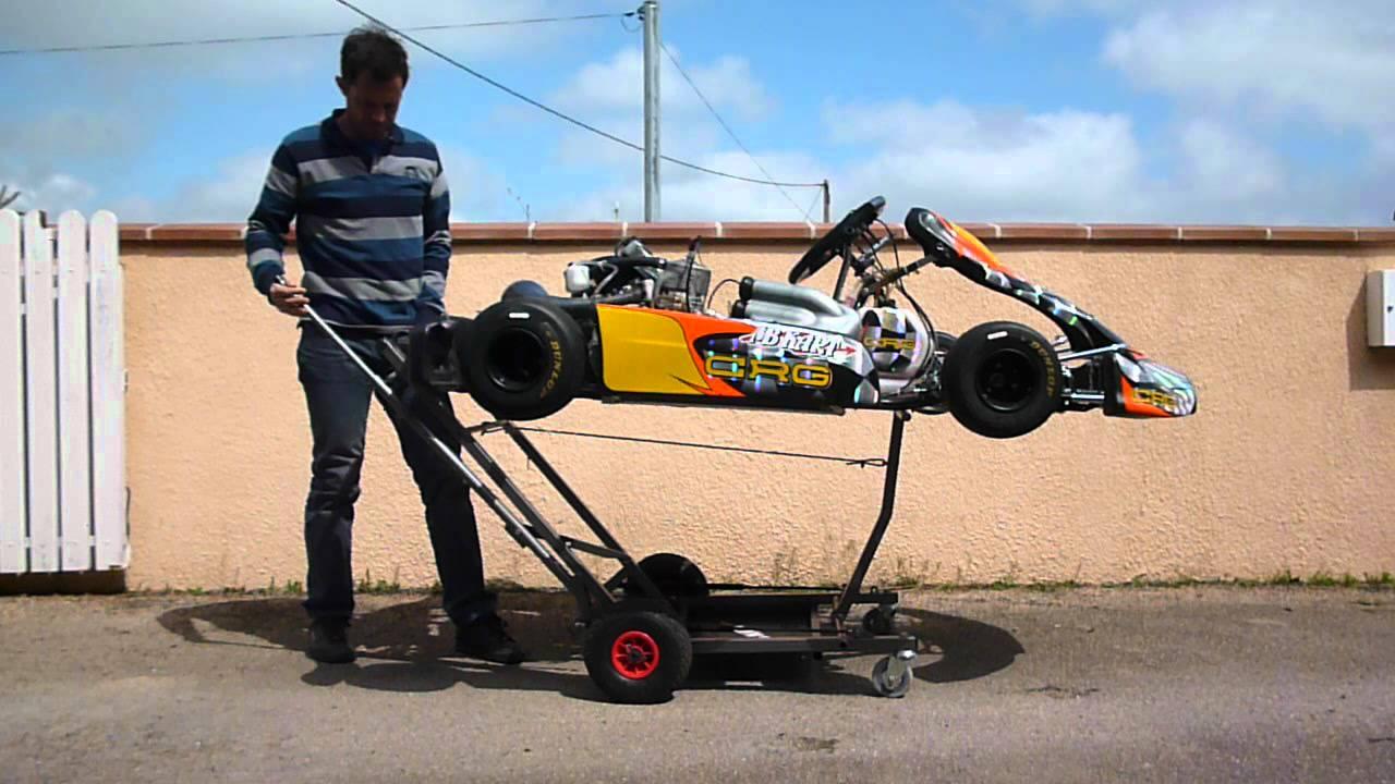 chariot karting kart 39 eaunes youtube. Black Bedroom Furniture Sets. Home Design Ideas