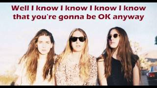 HAIM - The Wire (Lyrics Video) + Free mp3 download!