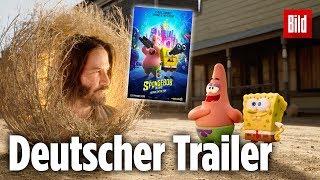 Spongebob kehrt zurück ins Kino – mit Keanu Reeves! | Film Trailer Deutsch