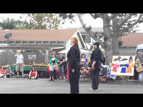 Macomber Karate Demo Team 7/18/2015