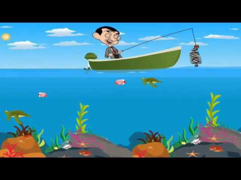 Mr Bean Fishing Games - Android Gameplay - Games For Kids
